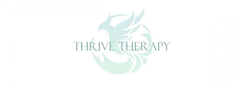 Thrive Therapy's phoenix logo in Tampa